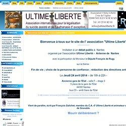 Site de l' Association Ultime Liberté : ACCUEIL