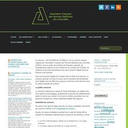 """Concours """"les Olympes de la parole"""" -AFFDU"""