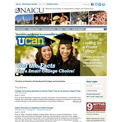 NAICU - National Association of Independent Colleges and Universities