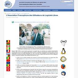 L'Association Francophone des Utilisateurs de Logiciels Libres