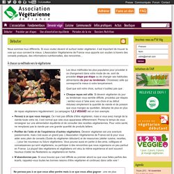 Devenir végétarien - Association Végétarienne de France