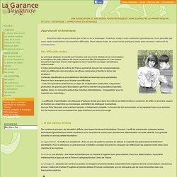 La Garance voyageuse - une association et une revue de vulgarisation botanique - Approfondir en botanique