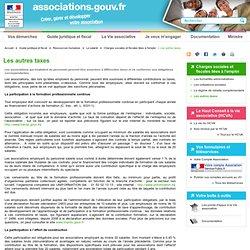 taxes sur salaires et autres Associations.gouv.fr