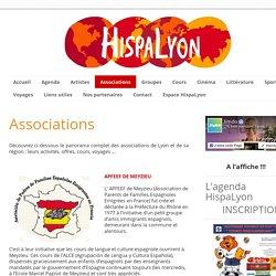 Associations - HispaLyon, le site de la communauté espagnole et latine de Lyon et sa région.