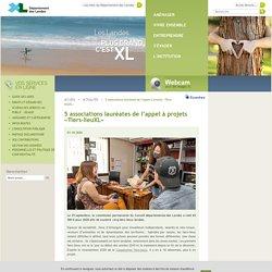 5 associations lauréates de l'appel à projets «Tiers-lieuXL»