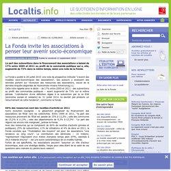 La Fonda invite les associations à penser leur avenir socio-économique - Localtis.info - Caisse des Dépôts