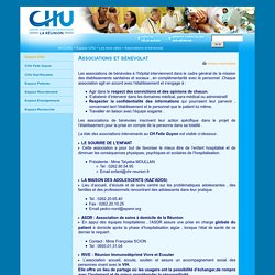 Associations et bénévolat - CHU