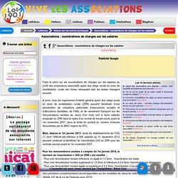 Associations : exonérations de charges sur les salaires