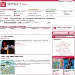 Arts plastiques - Annuaire des associations et fédérations - Page 5 - France