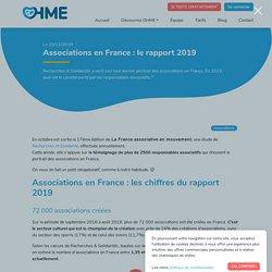 Associations en France : le rapport 2019 - OHME