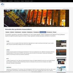 Annuaire des syndicats et associations des industries jeux vidéo et multimédia (France)