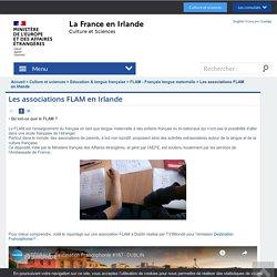 Les associations FLAM en Irlande - Ambassade de France en Irlande - French Embassy in Ireland