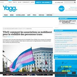 TDoV: comment les associations se mobilisent pour la visibilité des personnes trans