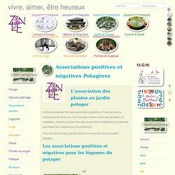 Associations plantes