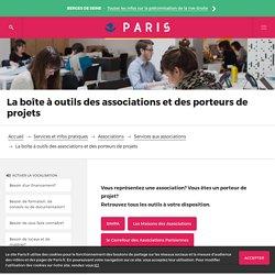 La boîte à outils des associations et des porteurs de projets