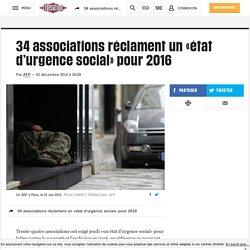 34 associations réclament un «état d'urgence social» pour 2016