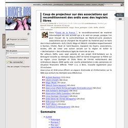 Coup de projecteur sur des associations qui reconditionnent des ordis avec des logiciels libres