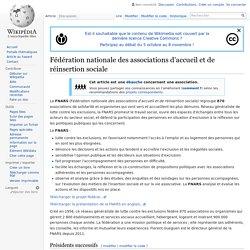 Fédération nationale des associations d'accueil et de ...