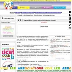 Un guide vraiment pratique : associations et ressources humaines