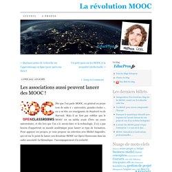 Les associations aussi peuvent lancer des MOOC !