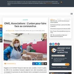 ONG, Associations : L'union pour faire face au coronavirus