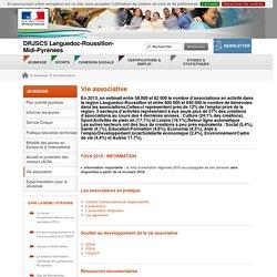 Vie associative - DRJSCS Languedoc-Roussillon-Midi-Pyrénées