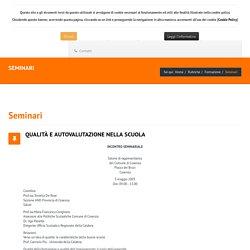 Associazione Nazionale Docenti - Seminari