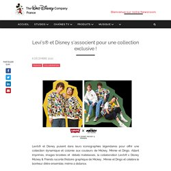 Levi's® et Disney s'associent pour une collection exclusive !