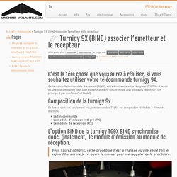 Turnigy 9X (BIND) associer l'emetteur et le recepteur - www.machine-volante.com