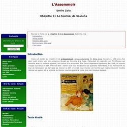 L'assommoir - Chapitre 6: Le tournoi de boulons - Emile Zola
