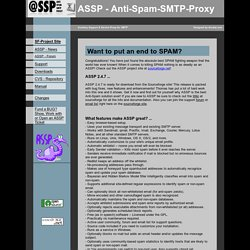 ASSP - Anti-Spam-SMTP-Proxy