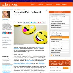 Assuming Positive Intent
