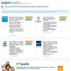 Assurance Santé Allemagne - Comparez, Devis Gratuits - SuperExpat.fr