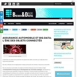 Assurance automobile et Big Data: l'ère des objets connectés