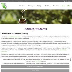 Quality Assurance - Berkeley Patients Group
