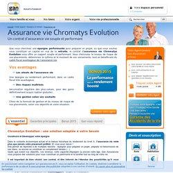 Assurance Vie Chromatys, l'épargne tout en souplesse