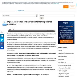 Software Quality Assurance Approach