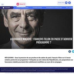 Assurance maladie : François Fillon en passe d'adoucir son programme ? - LCI