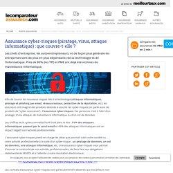 Assurance cyber-risques (piratage, virus, attaque informatique) : que couvre-t-elle ?