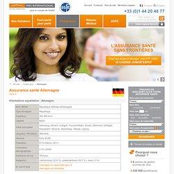 Assurance santé internationale expatriés Allemagne