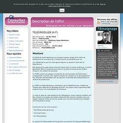 L'Assurance Maladie recrute : Description de l'offre
