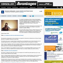 Assurance médicaments : recours collectif contre Postes Canada