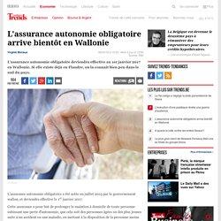 L'assurance autonomie obligatoire arrive bientôt en Wallonie