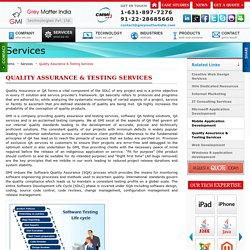Outsource Software Quality Assurance Testing Solutions