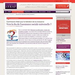 Vers la fin de l'assurance sociale universelle
