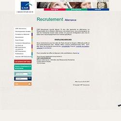 Assurances : Recrutement - Alternance