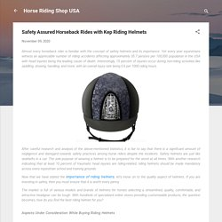 Find The Best Riding Helmet For You