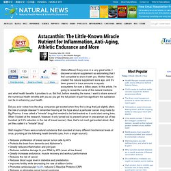 \Inflammation, Anti-Aging, Athletic Endurance and More