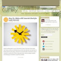 DIY Design Community « Keywords: DIY, Mid-Century, clock, how-to