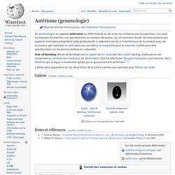 Astérisme (gemmologie)